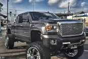Wide Stance and Tough Lift on GMC Sierra Denali
