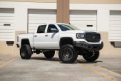 Lifted GMC Sierra Accentuated with Matte Black Elements