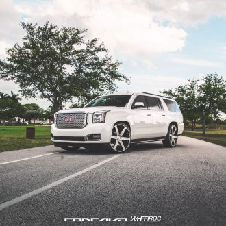 Cly Gmc Yukon Xl Highlighted With Refined Rims Photo By Concavo