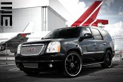 GMC Yukon Denali on Black Custom Wheels by Exclusive Motoring