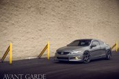 Blending In and Standing Out: Customized Gray Honda Accord on Custom Rims