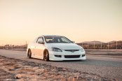 White Honda Accord Gains Distinctive Appearance with Custom Parts