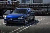 Slightly Modified Blue Honda Accord