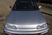 Car Enthusiast Favorite: Customized Gray Honda Civic