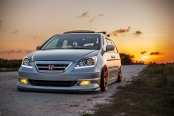 Full Package: Modified Gray Honda Odyssey
