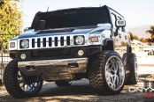 Silver Hummer H2 Outfitted and Ready to Go Off-Road