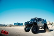 Lifted and Awesome Camo Hummer H2 Perfect for Off-Road