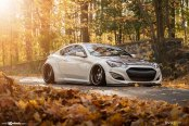Culture Shock: Japanese Tuning for White Hyundai Genesis Coupe