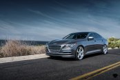 VIP Appearance of Hyundai Genesis Outfitted With Blaque Diamond Wheels