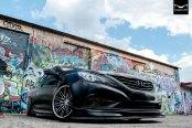 Vip Style Slammed Hyundai Sonata on Concept One Wheels
