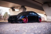 Custom Billet Grille and Rims Take Black Infiniti G35 to Another Level