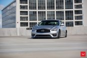 Air Lifted Infiniti Q70 With Vossen VPS-301 Wheels