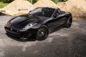 Black is the New Black: Customized Convertible Jaguar F-Type