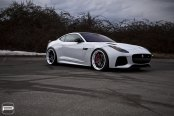 Sharp Looking Custom Accessories Found on White Jaguar F-Type