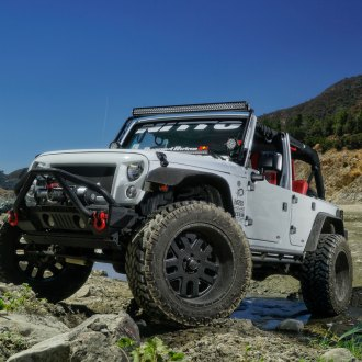 This Is a Jeep World: Wrangler Customized for Off-Roading