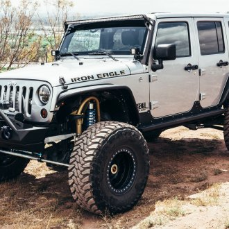 Iron Eagle Build, Jeep Wrangler Customized by Rebel Off Road