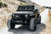 Monster Created Out of Black Jeep Wrangler to Go Off-Road