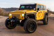 Hate It or Love It: Sinister Yellow Jeep Wrangler Gets Superb Off-Road Accessories