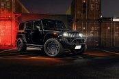 Back in Black: Jeep Wrangler Shows Off Custom Body Styling