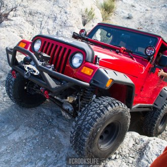 Fun-to-Drive Off-Road Monster Jeep Wrangler