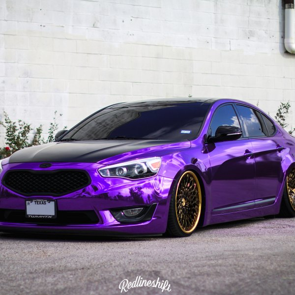 Auto Vinyl Wrap >> Custom 2014 Kia Cadenza | Images, Mods, Photos, Upgrades — CARiD.com Gallery