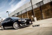 Classy Looks of Black Kia Cadenza Enhanced With Chrome Accents