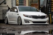 Kia Optima with a Perfect Stance by Avant Garde