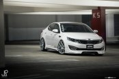 Optima with Sport Body Kit and Avant Garde Custom Wheels