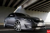 Bossy Kia Optima Fitted with Exterior Add-Ons