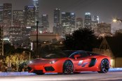 Night Stalker Aventador on Lexani Forged Wheels