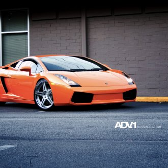 Orange Lamborghini Gallardo With Crystal Clear Headlights   Photo By ADV.1