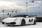 Lamborghini Gallardo with Race Look Spruced up by Lexani