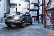 Luxury Vossen Rims Beautify Modern Silhouette of Range Rover Evoque