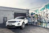 Subtle Tuning Kit Detected on Fascinating White Range Rover Evoque