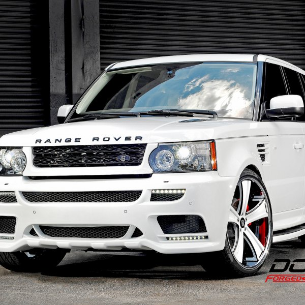 2008 Land Rover Range Rover Supercharged: Custom 2008 Land Rover Range Rover Sport