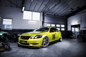 Lexus GS Couldn't Get More Stylish with Yellow Paint and Dark Smoke Taillights