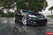 Exclusive Style Meets Performance in Lexus IS-F Put on Vossen Custom Rims
