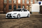 Custom Lighting Takes White Lexus IS to Another Level
