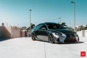Mirror Gray Lexus IS F Gets Aftermarket Headlights
