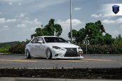 White Lexus IS Taken to Another Level by Custom Ground Effects