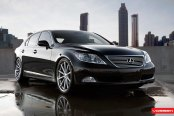 VIP Lexus LS460 Enhanced With Custom Forged Rims