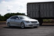 Luxurious Lexus LS460L Boasting Vossen Rims With Polished Lips