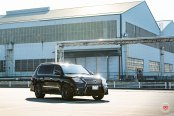 Big & Classy Lexus LX570 With Gorund Effects And Vossen Rims