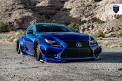 Racy Nature of Stanced Lexus RC Accentuated with Custom Body Parts