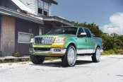 Luxury Pickup Lincoln Mark LT Boasting Chameleon Paint