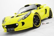 Lime Green Lotus Exige Fitted with ADV1 Forged Wheels
