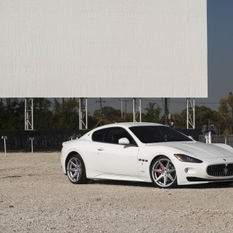 Customized White Maserati Granturismo Screams of Luxury
