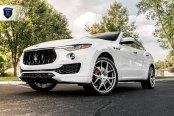 Appropriately Futuristic Maserati Levante Boasting Unique Rohana Wheels