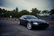 Luxury Ride - Maserati Quattroporte Fitted With Brushed Custom Wheels