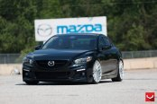 Renovated Black Mazda 6 with Custom Parts